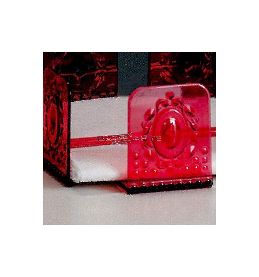 Support a ventouse pour salle de bain 6 baci milano for Crochet ventouse pour salle de bain