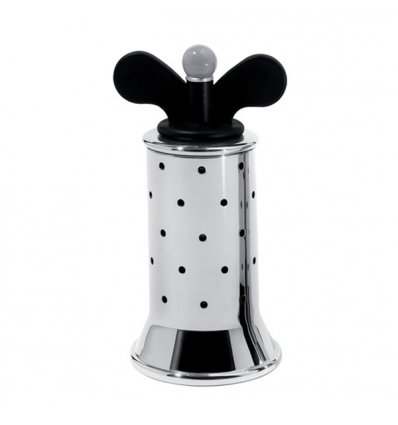 Pepper mill - MICHAEL GRAVES - Black - Alessi