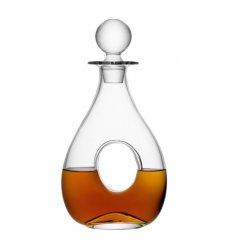 Carafe à décanter avec bouchon en verre soufflé - ONO -0.88 litre