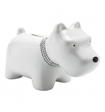 Kare Design - Tirelire - STRUPPI - Porcelaine - Longueur 18.5 cm