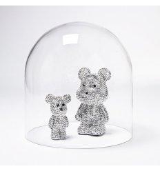 Cloche en verre soufflé - DOME 30 - Hauteur 30 cm