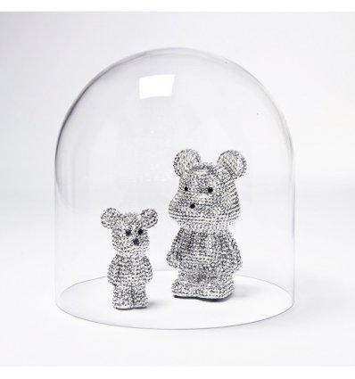 Kare Design - Cloche en verre soufflé - DOME 30 - Hauteur 30 cm