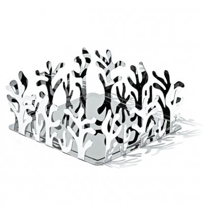 Paper towel holder - MEDITERRANEO - Stainless Steel - Alessi