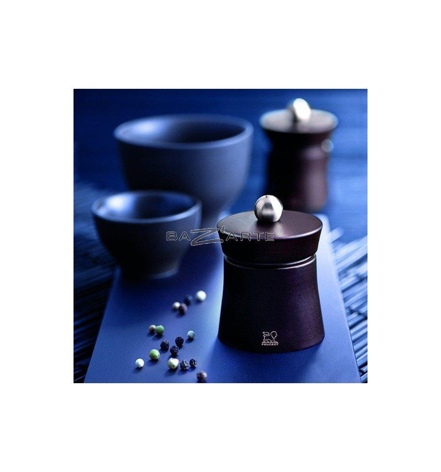 acheter moulin poivre manuel baya bois sombre hauteur 8 cm par peugeot chez bazarte. Black Bedroom Furniture Sets. Home Design Ideas