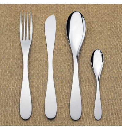 Alessi - Set de 24 couverts - EAT.IT - Acier inoxydable