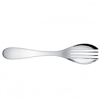 Serving fork- EAT.IT - Stainless Steel - Alessi