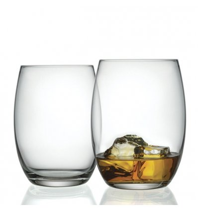 Alessi - Set de 2 verres long drink - MAMI XL - Verre cristallin - 50cl