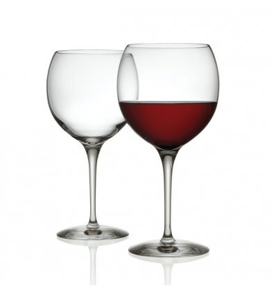 Set of 2 red wine glasses - MAMI XL - Crystallin glass - 65 cl - Alessi