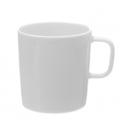 A di Alessi - Set de 4 mugs - PLATEBOWLCUP - Porcelaine