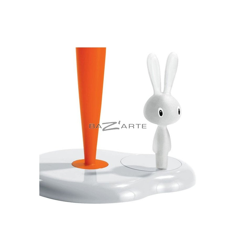 Acheter porte rouleau de papier de cuisine bunny carrot for Alessi porte prezzi