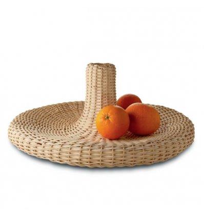 Centerpiece - VIME - woven rattan - Alessi