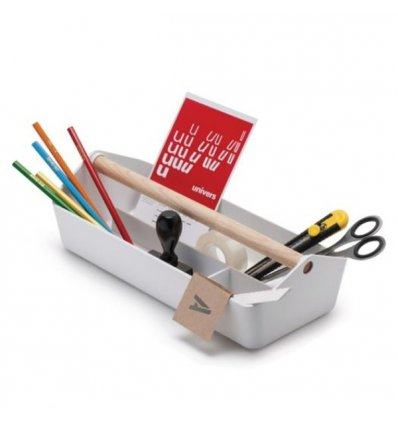 Multifunction box - CARGO BOX - White - Alessi