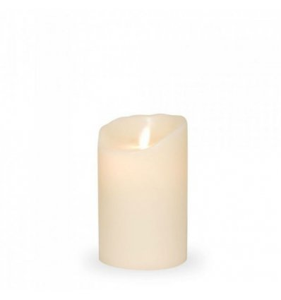 LED candle light - LED FLAME - H 12.5 cm - Sompex