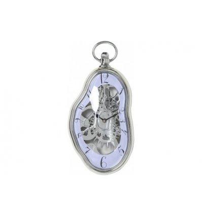 Horloge murale - Clockwork chromée