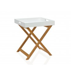 Table d'appoint plaible avec plateau