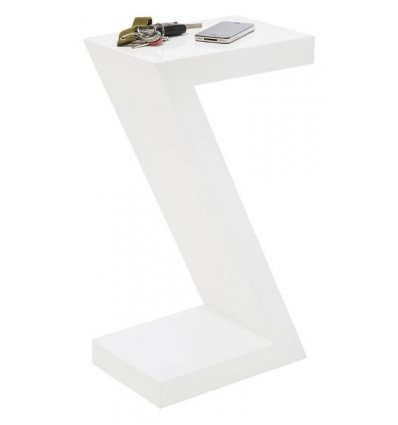 Table d'appoint Z - blanche
