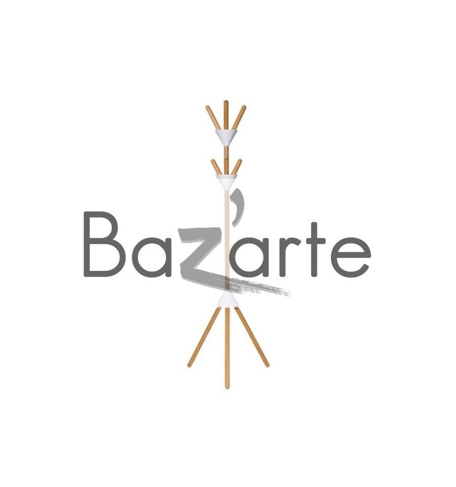 Porte manteau pierrot bazarte objets et cadeaux design for Porte manteau