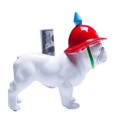 Tirelire Police Dog