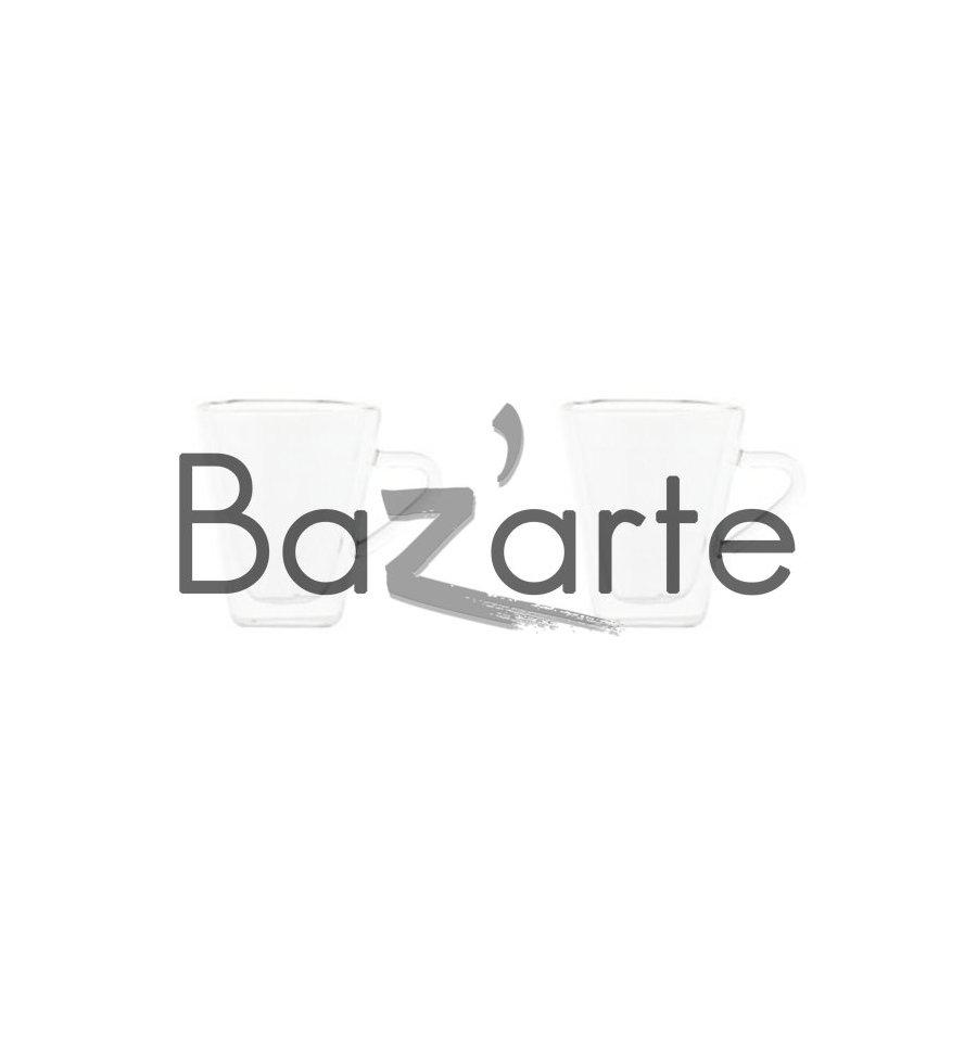 tasse expresso double paroi verre bazarte objets et cadeaux design. Black Bedroom Furniture Sets. Home Design Ideas