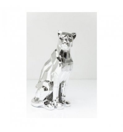 "Figurine décorative ""Sitting Cat Rivet"""