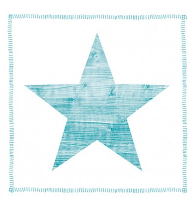 Serviette en papier décorative - Star Fashion ocean