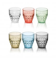Set de 6 verres bas - TIFFANY
