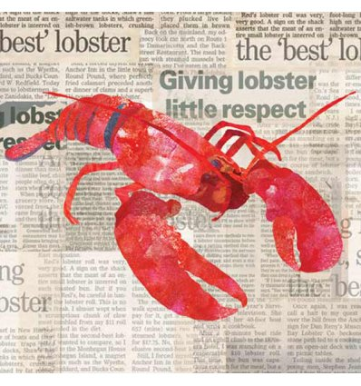 Serviette en papier décorative - Lobster Shack