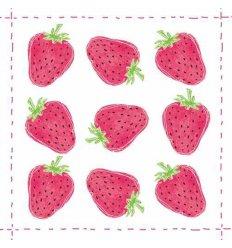 Serviette en papier décorative - Fashion Strawberry