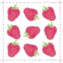 Serviette en papier décorative - Fashion Strawberry