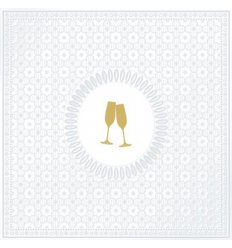 Serviette en papier décorative - Medaillon Cheers pearl