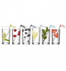 Set de 6 mélangeur - GLASSES STIR STICKS