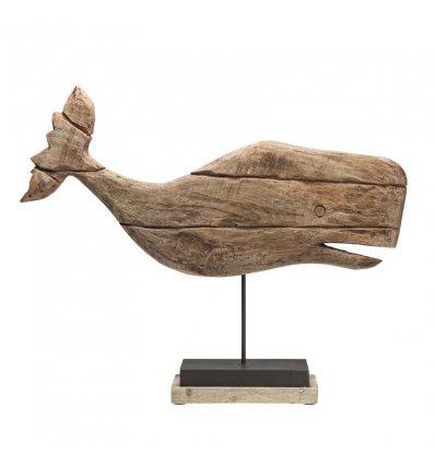 "Figurine décorative ""Whale Nature"""