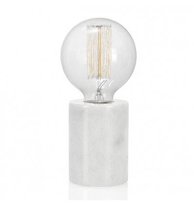 Lampe de table marbre blanc