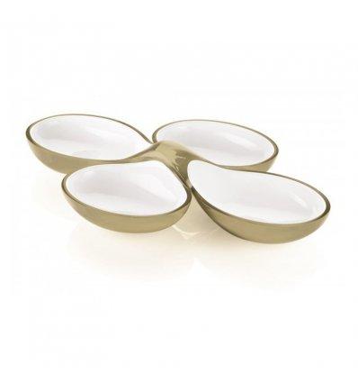 Guzzini - Set de 2 plats pour apéritif et hors d'oeuvre - VINTAGE