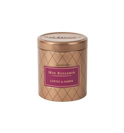 Bougie parfumée boîte métallique