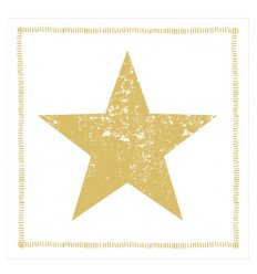 Serviette en papier décorative - Star Fashion