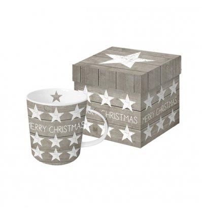 Mug - Merry Christmas Stars