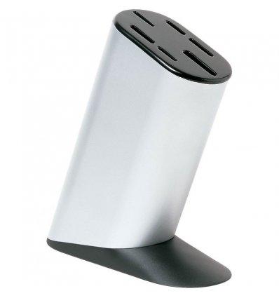 Alessi - Bloc à couteaux de cuisine - MAMI - Aluminium