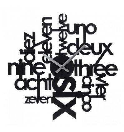 Horloge Murale Lingua Bazarte Objets Et Cadeaux Design