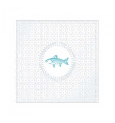 Serviette Papier D Co M Daillon Fish Pearl Bazarte