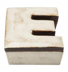 Boîte décorative - Lettre E
