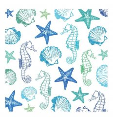 Serviette en papier - Aquarell Seaside