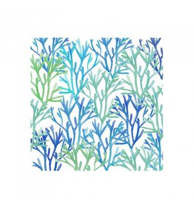 Serviette en papier - Aquarell Saeside