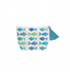 Pochette - Aquarell Fishes
