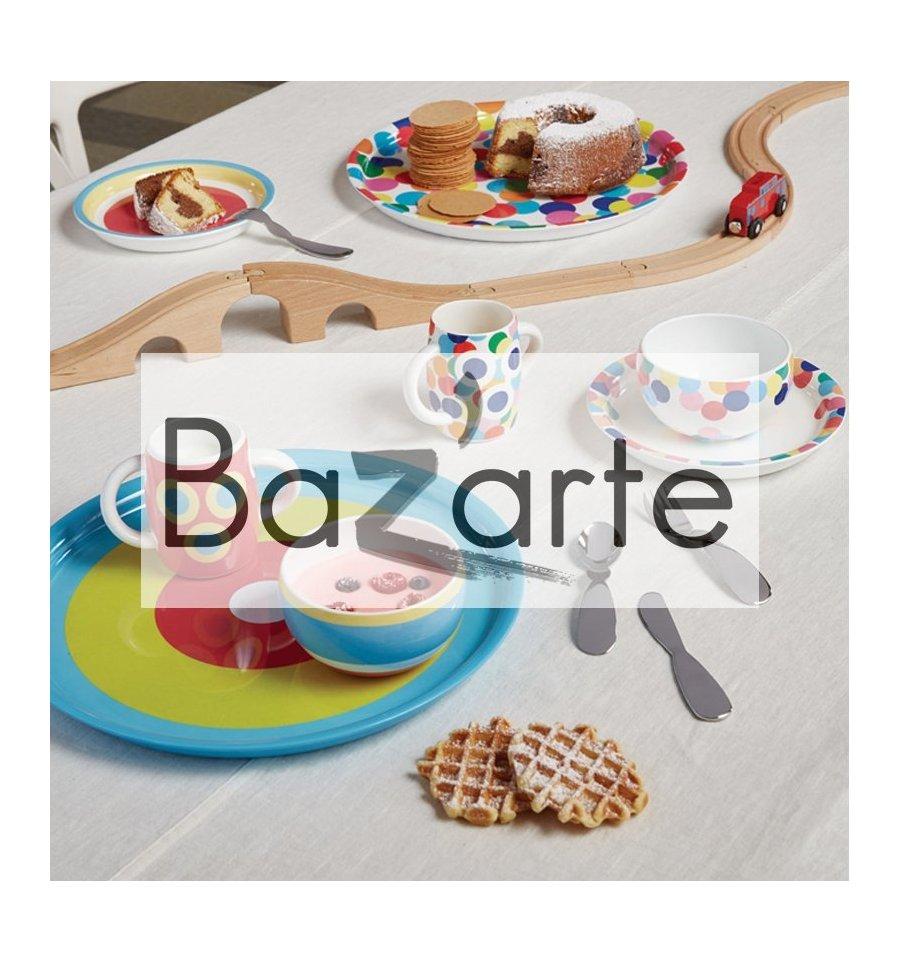 set de table enfants alessini bazarte objets et cadeaux design. Black Bedroom Furniture Sets. Home Design Ideas