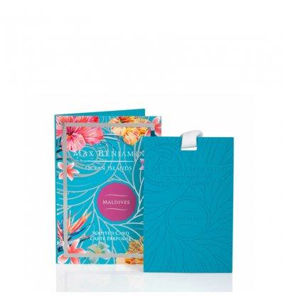 Carte parfumée - MALDIVES